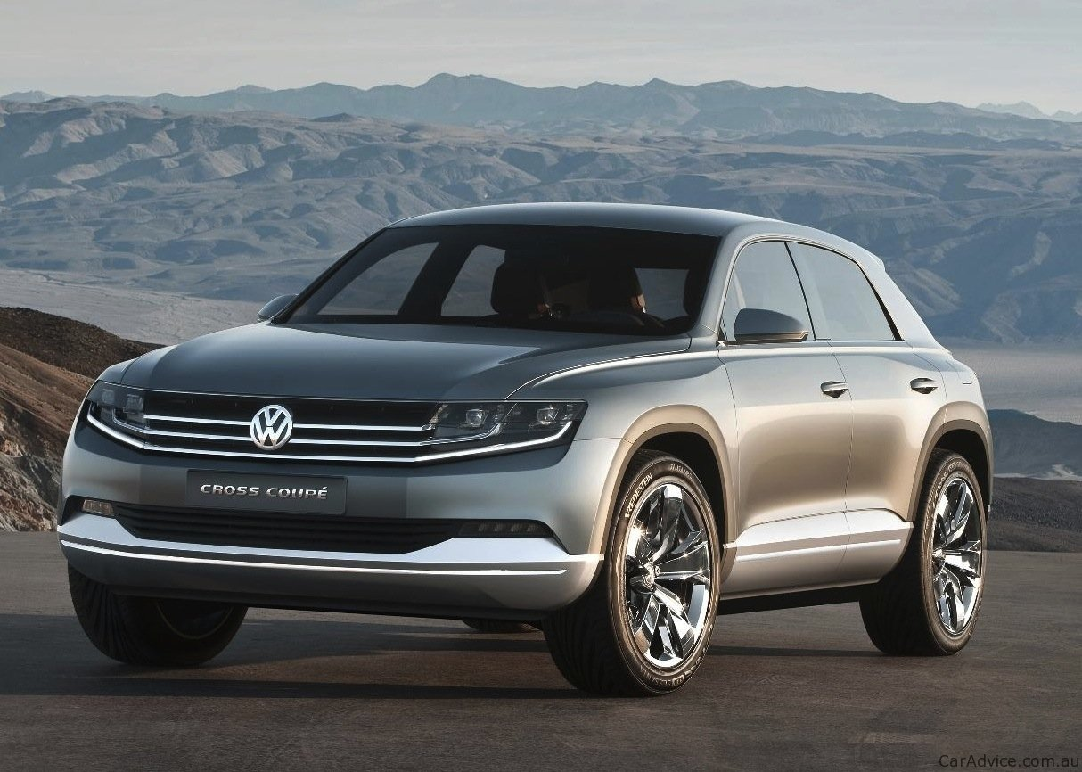 volkswagen cross coupe concept suv unveiled photos 1 of 12. Black Bedroom Furniture Sets. Home Design Ideas