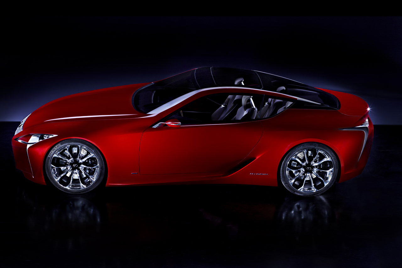Lexus LF-Lc sports car concept leaked: the new SC430 ...