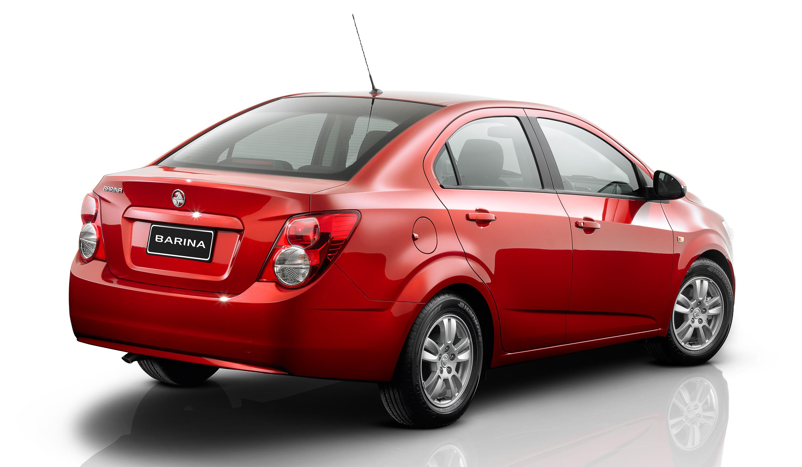 holden new car releaseHolden Barina sedan released  Photos 1 of 3