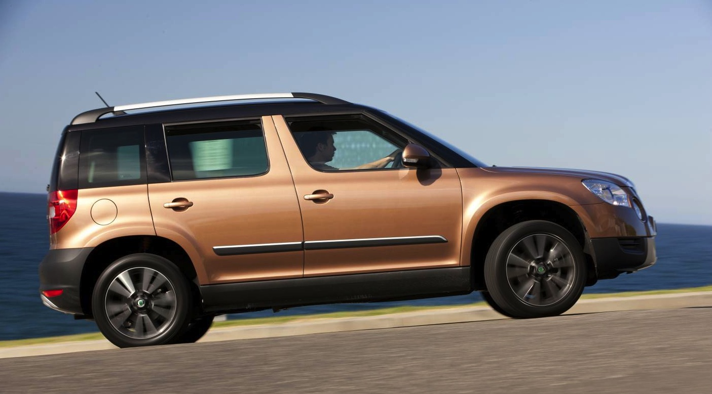 skoda yeti 112tsi launched photos 1 of 3. Black Bedroom Furniture Sets. Home Design Ideas