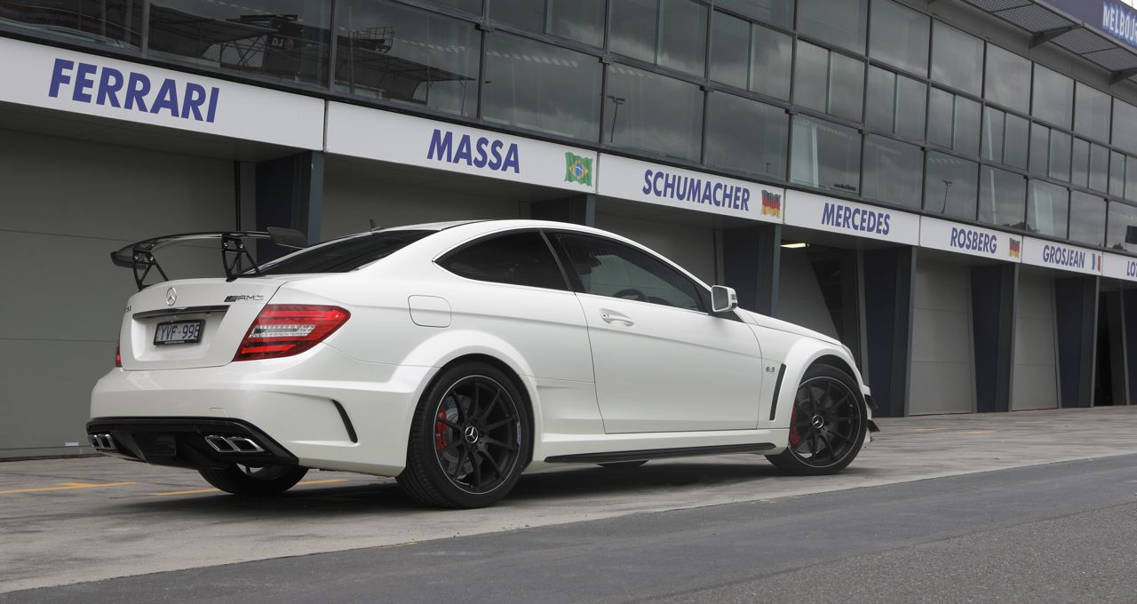 Mercedes benz c63 amg coupe black series unleashed for Mercedes benz amg c63 price