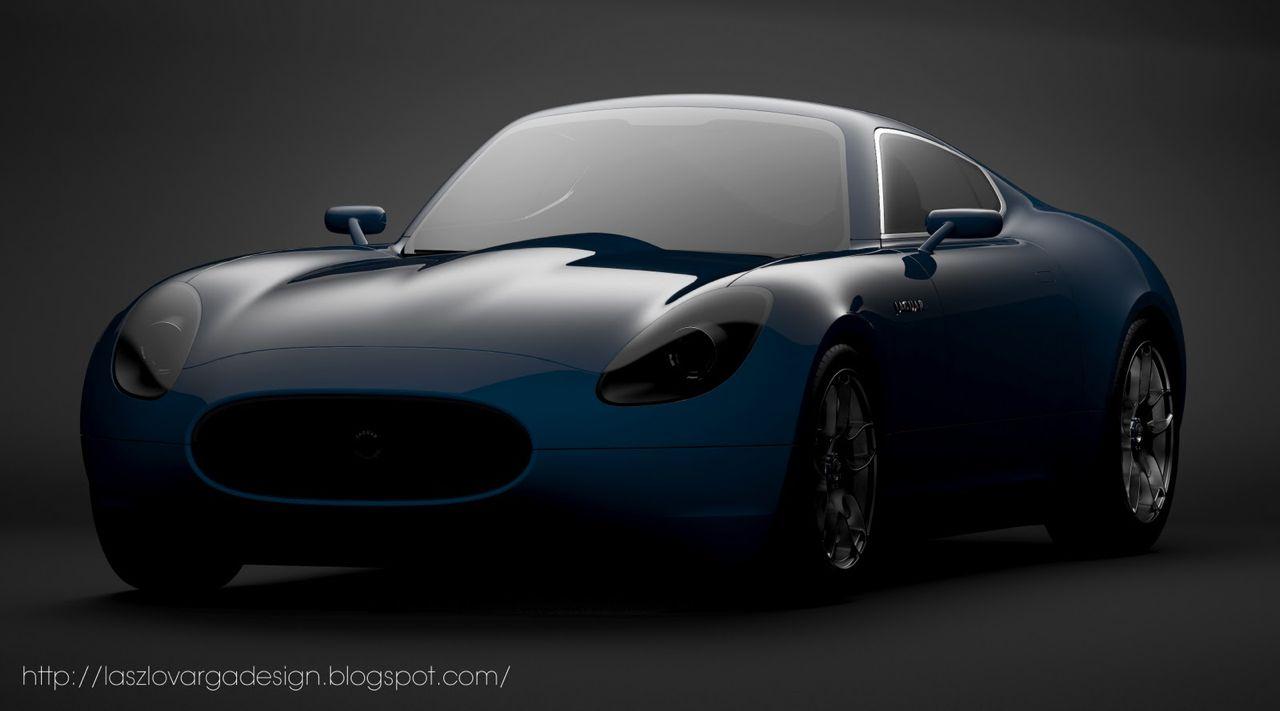 Jaguar E-Type Concept: new take on classic sports car ...