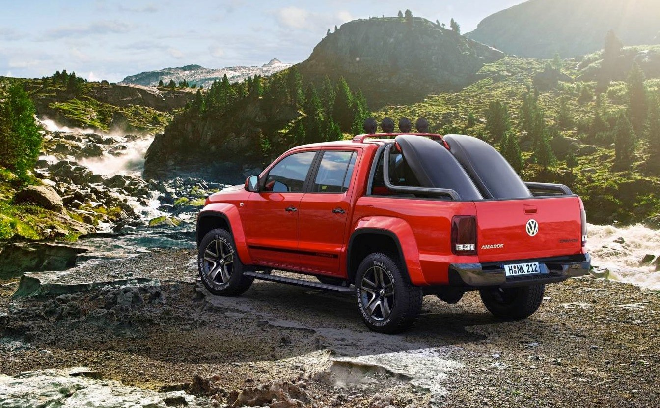 volkswagen amarok canyon extreme sports pick up concept revealed photos 1 of 2. Black Bedroom Furniture Sets. Home Design Ideas