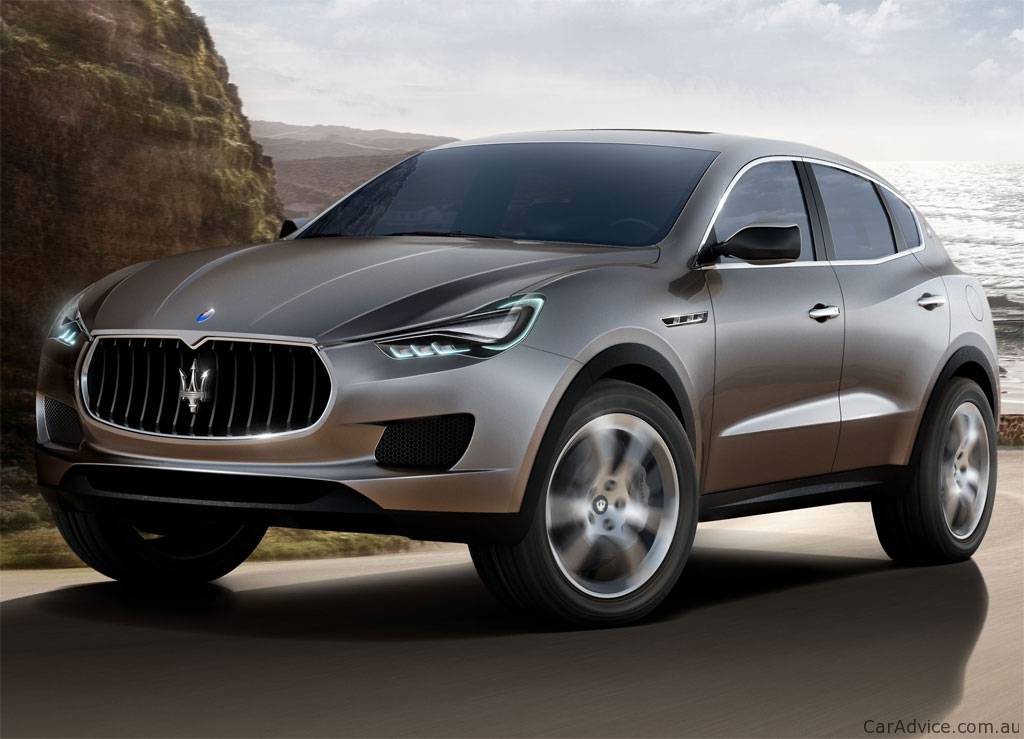 Maserati Targets Sales With New Suv And Sedan Photos Of