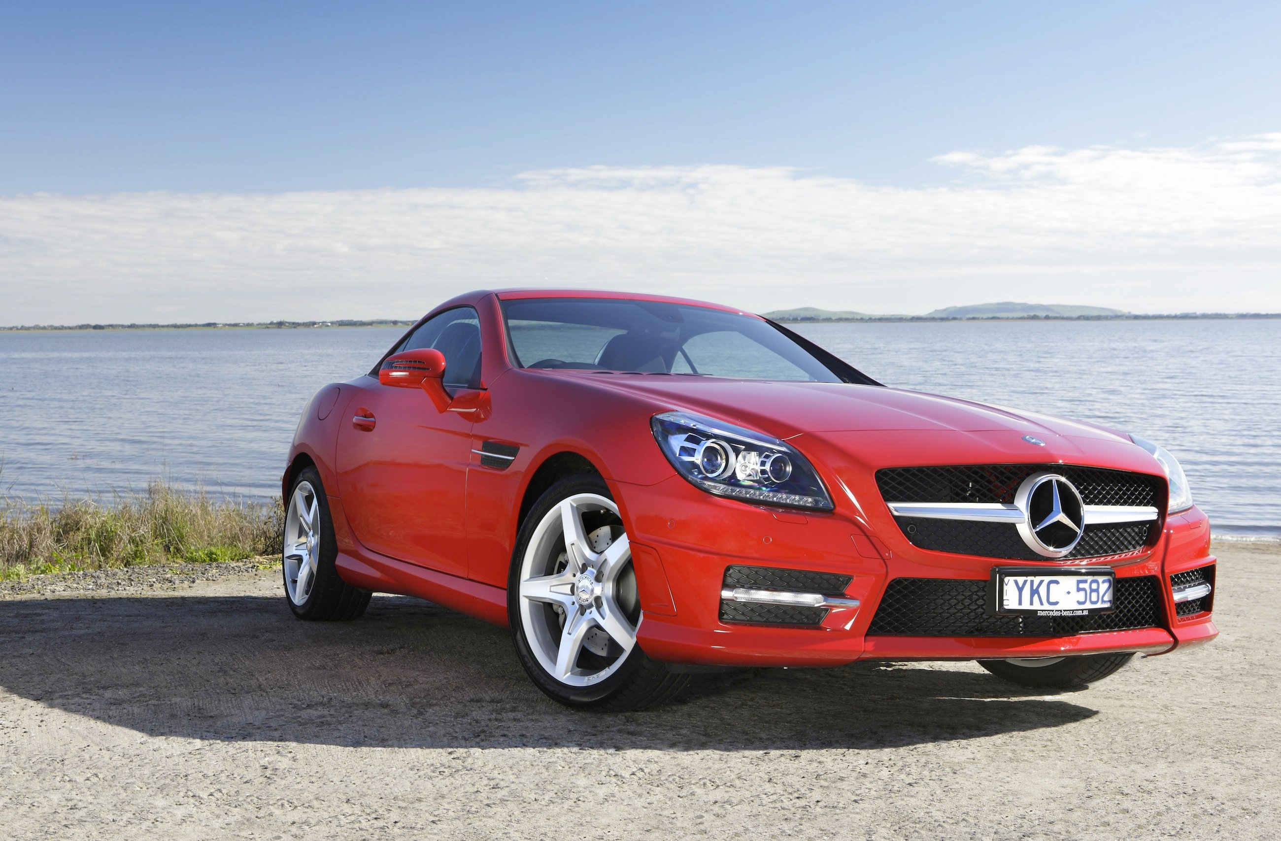 Mercedes benz slk350 review photos caradvice
