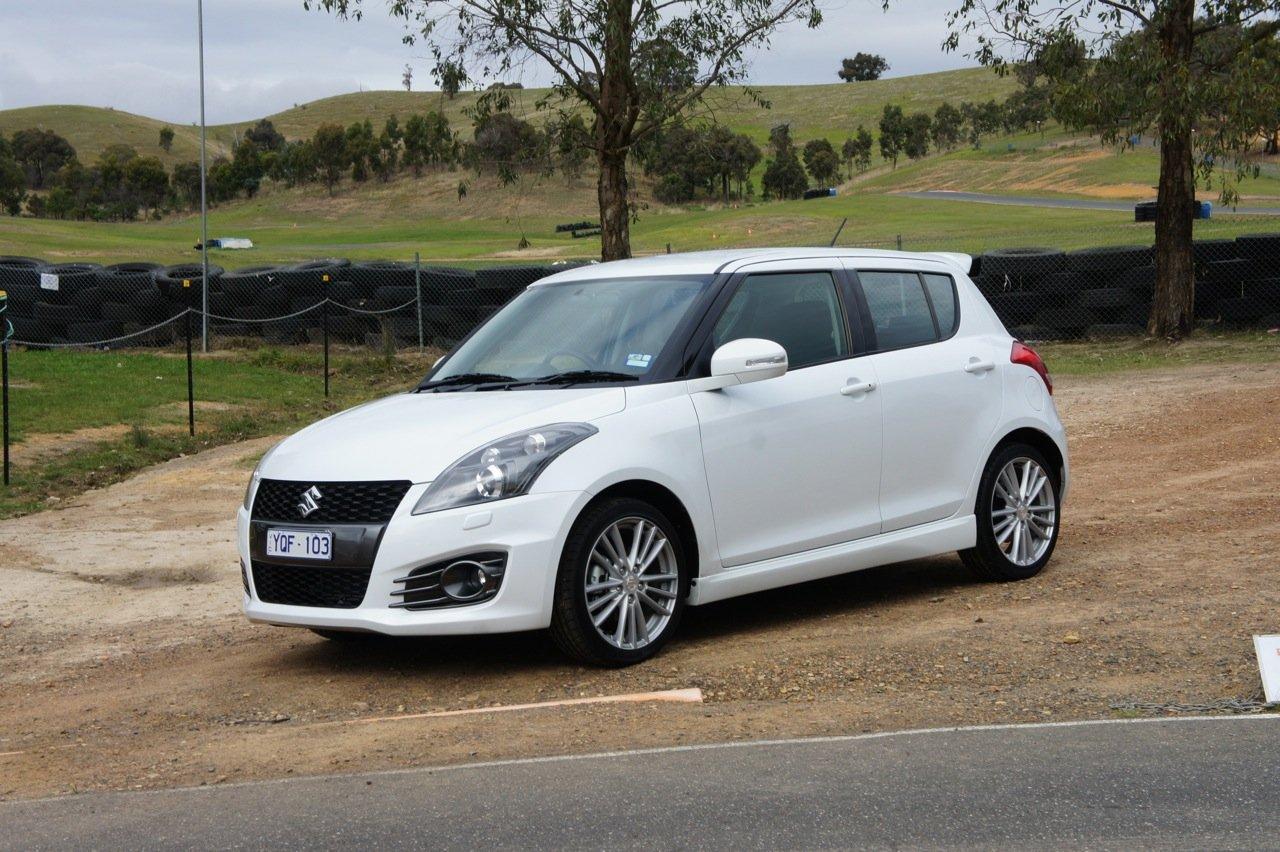 Suzuki Swift Sport Review On Track Caradvice