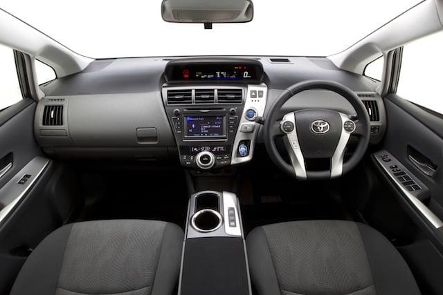 Toyota Prius V Australia S First Seven Seat Hybrid