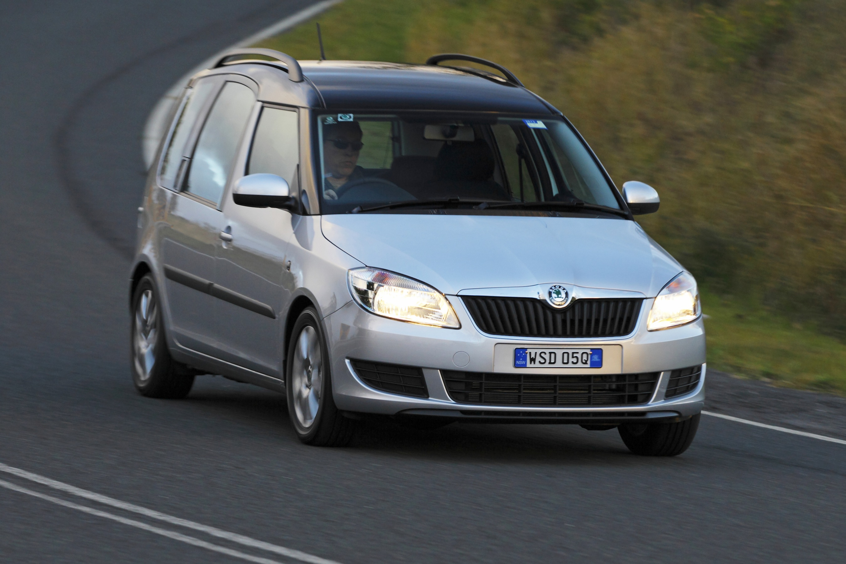 skoda roomster review caradvice. Black Bedroom Furniture Sets. Home Design Ideas