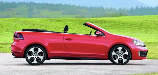 vw golf gti cabriolet review caradvice. Black Bedroom Furniture Sets. Home Design Ideas