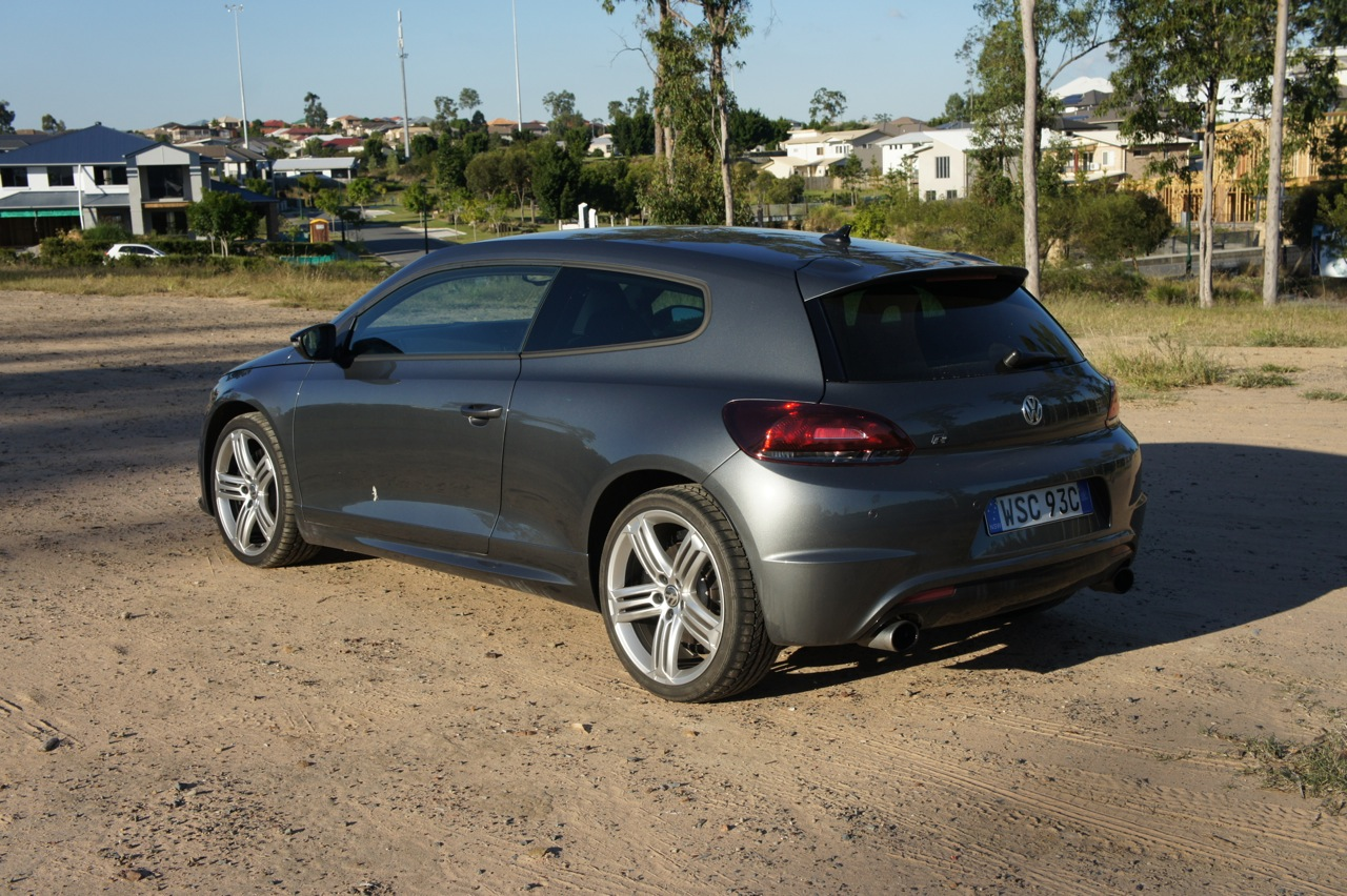 volkswagen scirocco r review caradvice. Black Bedroom Furniture Sets. Home Design Ideas