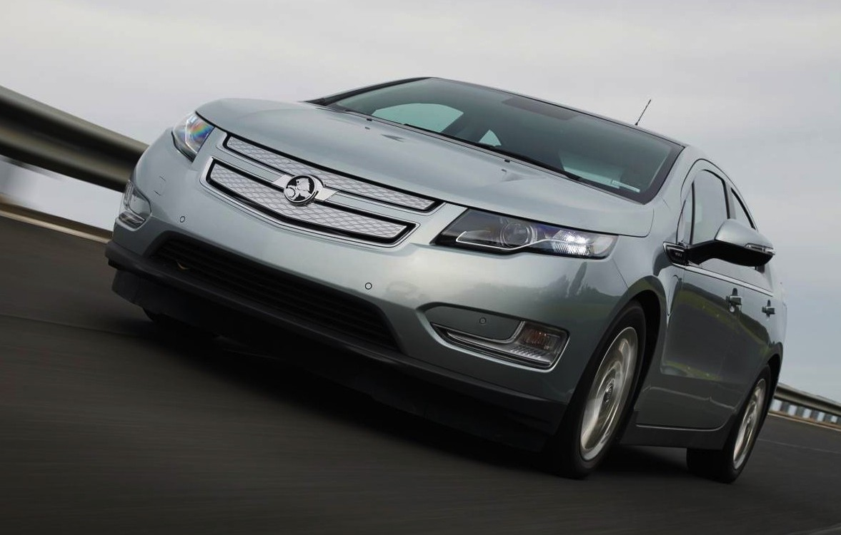 holden volt battery range increase extends charge time