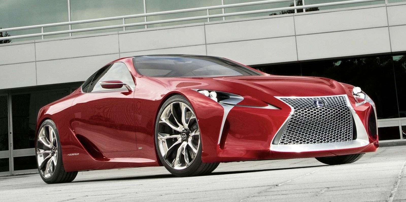 lexus lf-lc: concept to become production reality2015 - photos