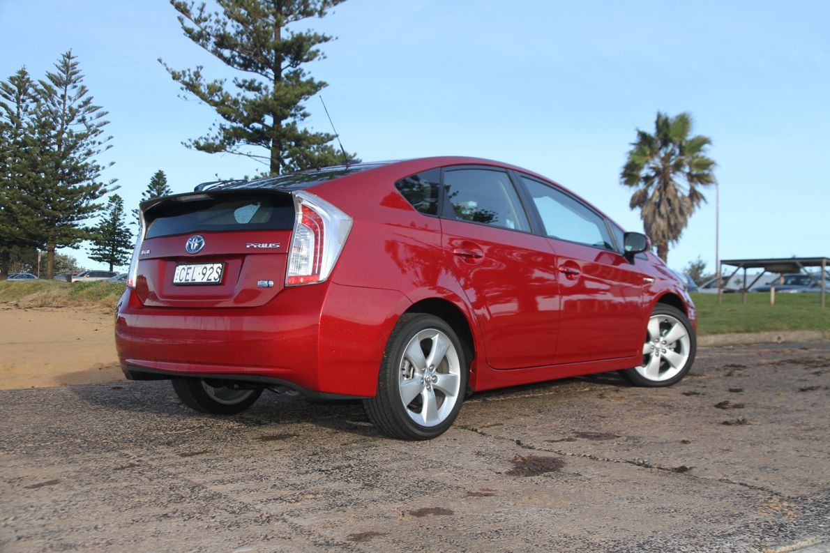 2012 toyota prius review caradvice. Black Bedroom Furniture Sets. Home Design Ideas