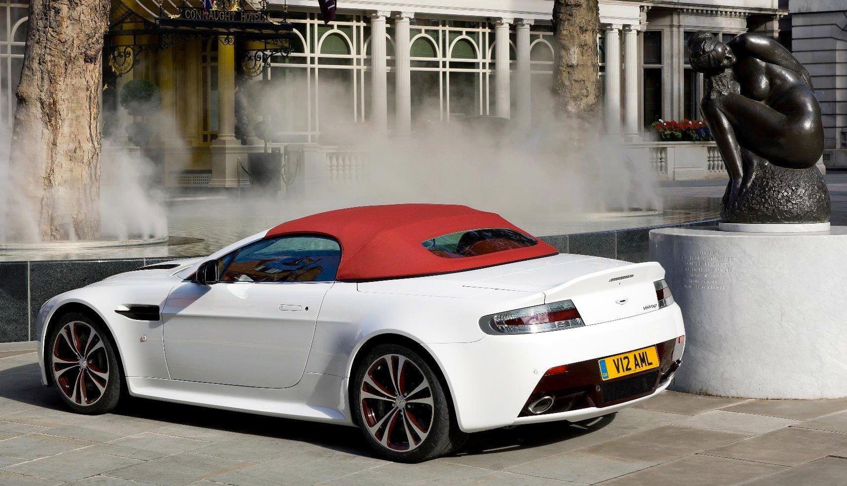 aston martin v12 vantage roadster 430000 for limited