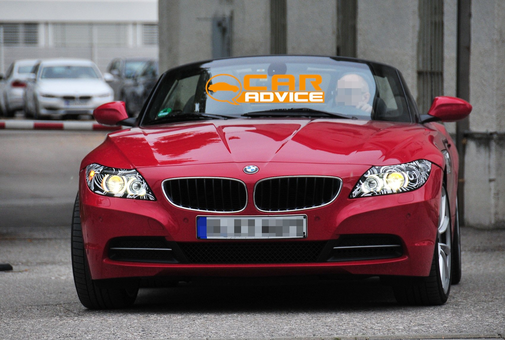Bmw Z4 First Look At Facelift For German Roadster