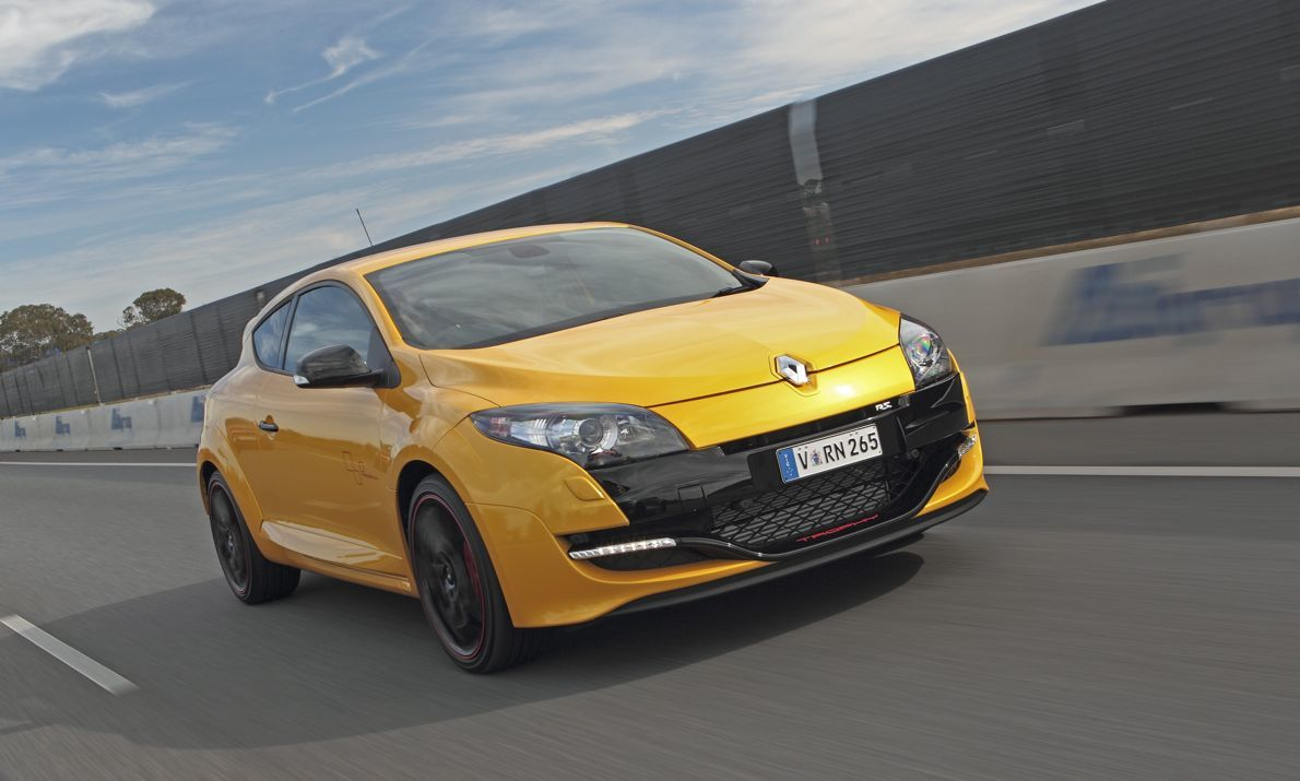 renault megane rs265 launches in australia photos 1 of 5