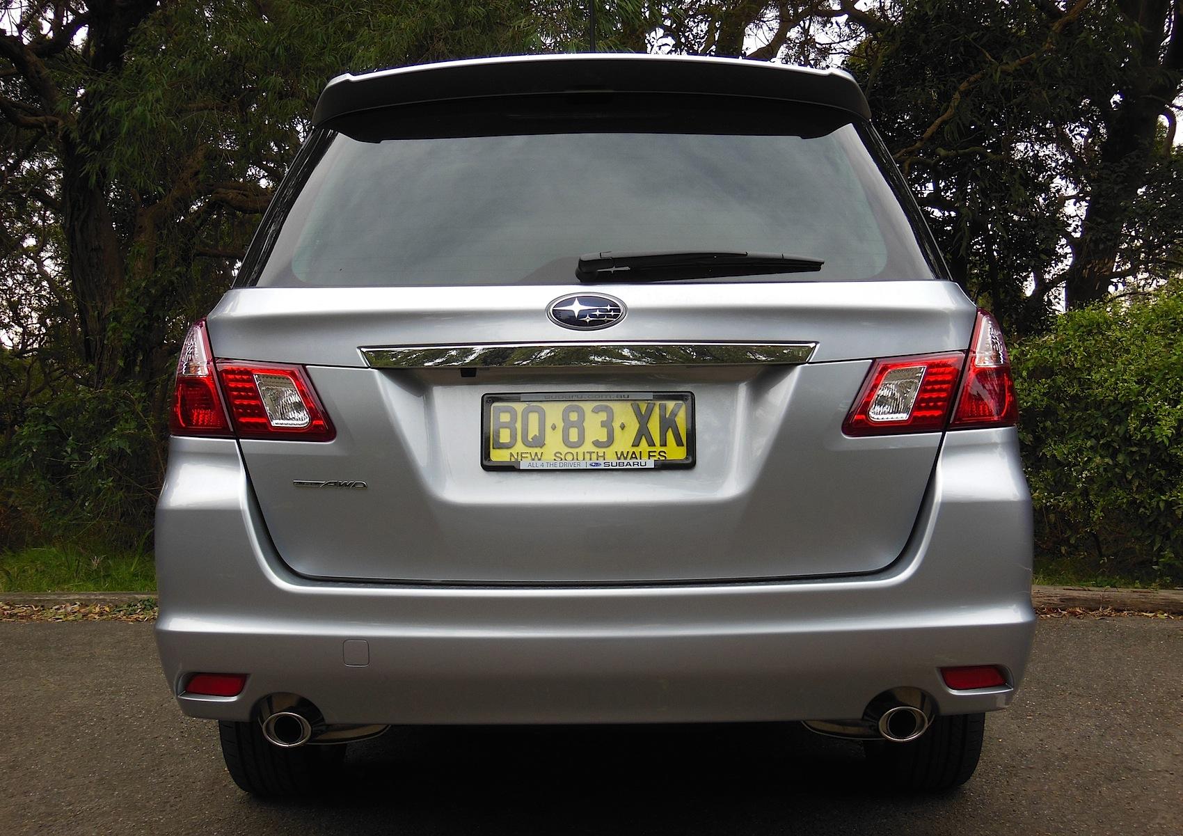 Subaru Liberty Exiga Review | CarAdvice