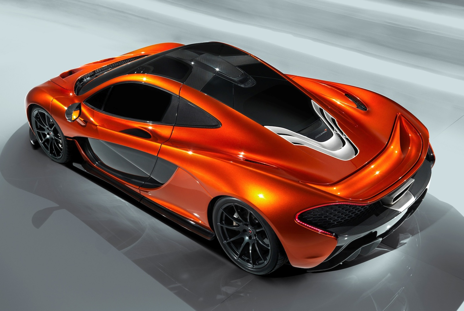 McLaren P1 leaked photo gallery reveals massive rear wing ...