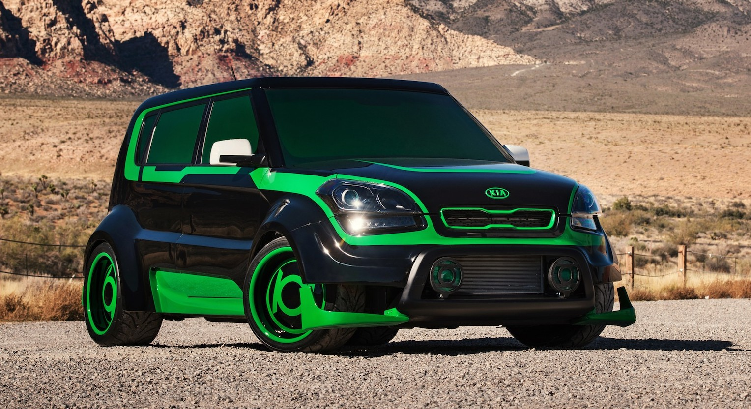 Kia Justice League Super Hero Cars Unveiled At 2012 Sema