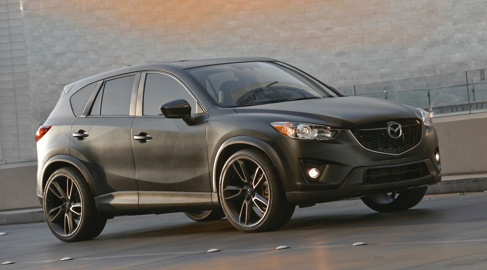 mazda cx 5 trio pounces into sema photos 1 of 9. Black Bedroom Furniture Sets. Home Design Ideas