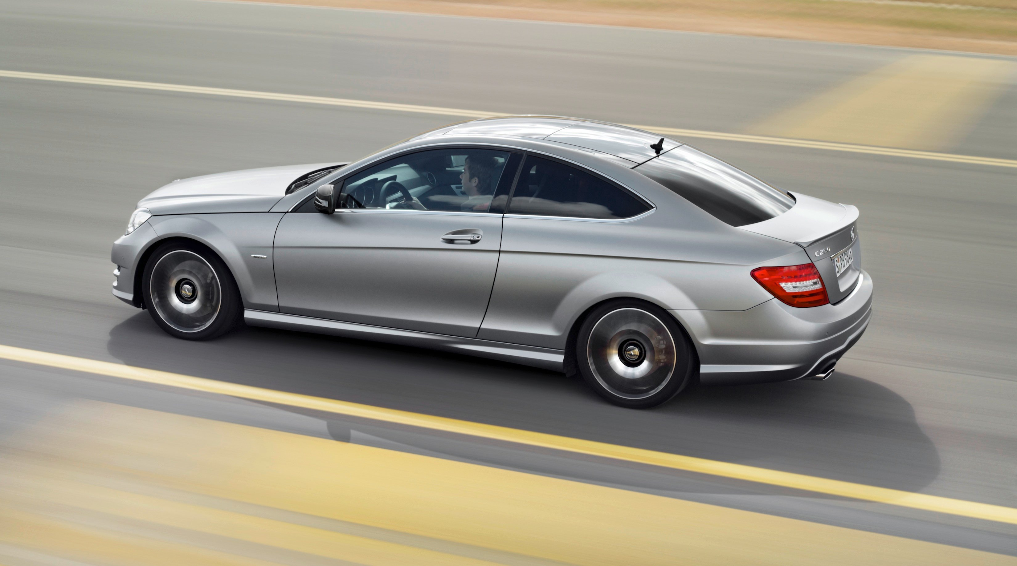 Mercedes benz c250 coupe sport adds amg visuals and for Mercedes benz c 250