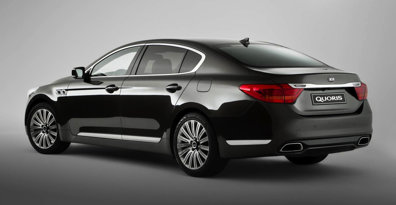 kia quoris luxury sedan to make australian debut photos 1 of 16. Black Bedroom Furniture Sets. Home Design Ideas