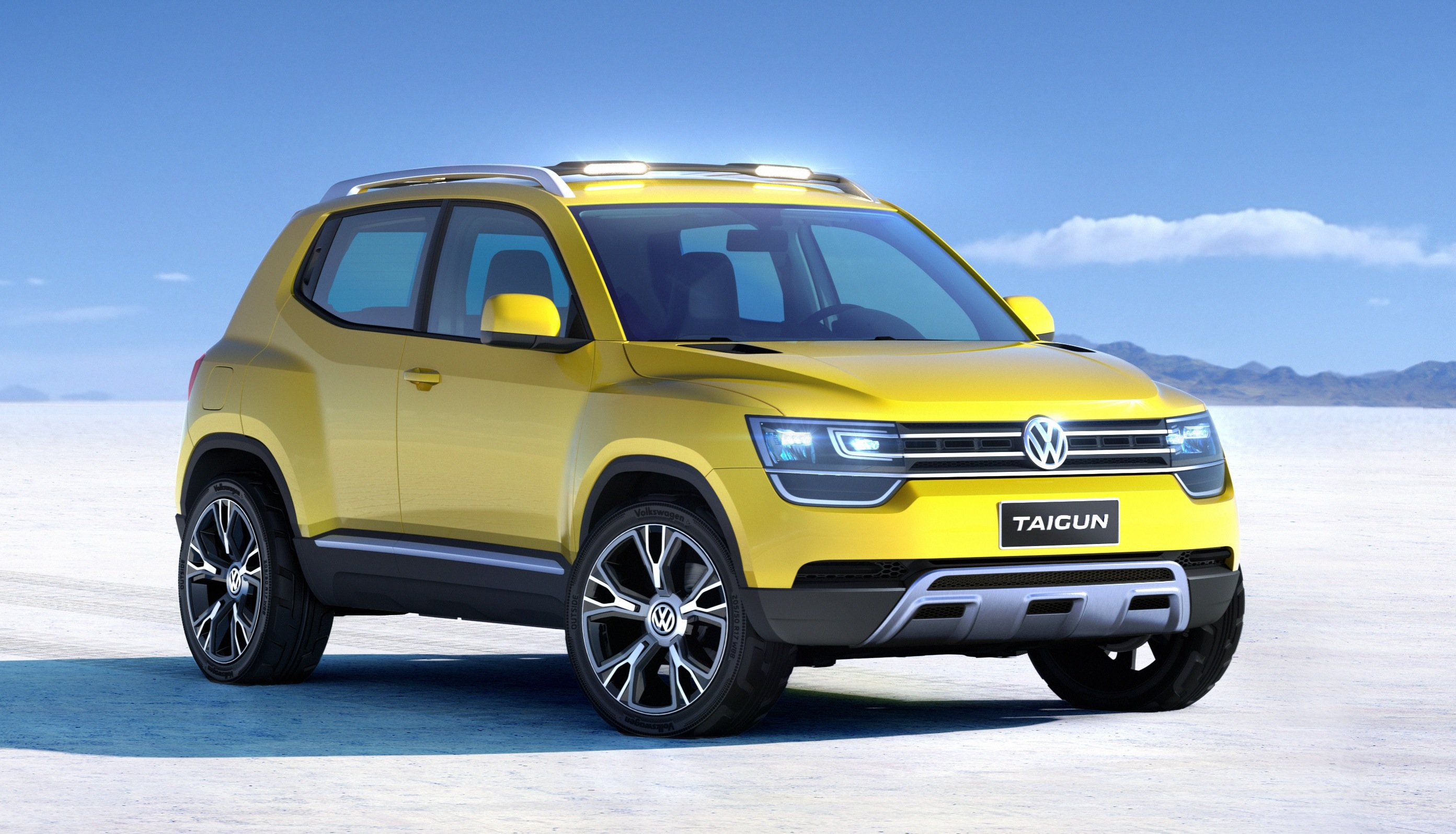 volkswagen taigun concept previews new baby suv photos. Black Bedroom Furniture Sets. Home Design Ideas
