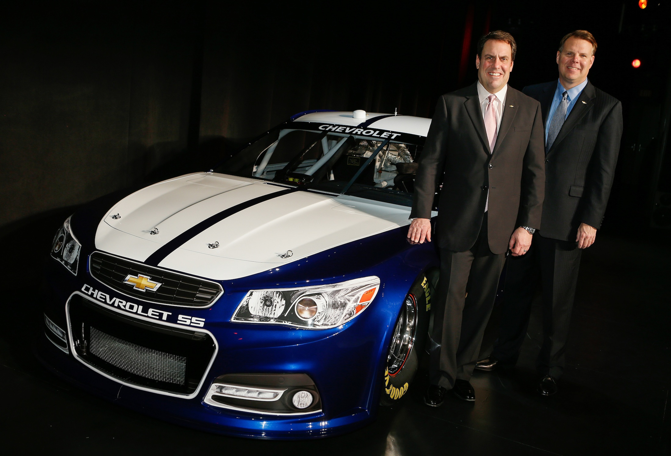 Chevrolet Ss Nascar Revealed 2013 Vf Commodore In Us Race