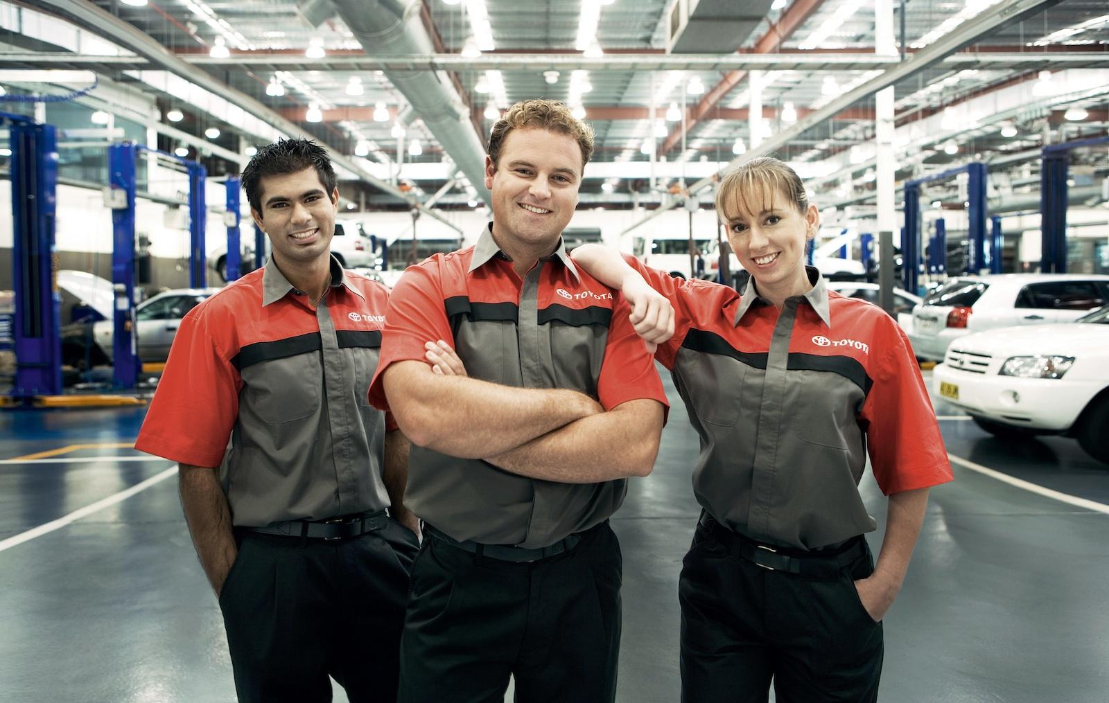 Toyota honda top australian vehicle service satisfaction survey