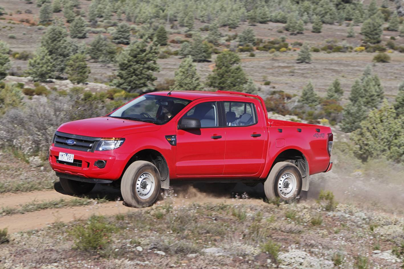 ford ranger increases towing capacity to joint class. Black Bedroom Furniture Sets. Home Design Ideas