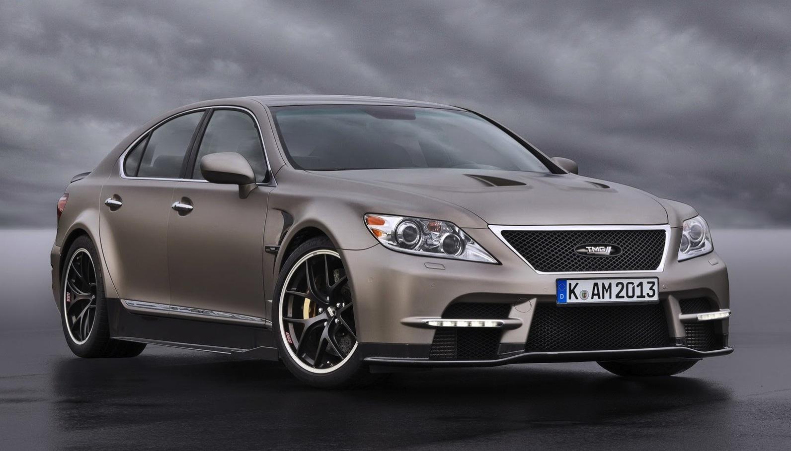 Lexus LS TMG Sports 650: supercar performance for luxury ...