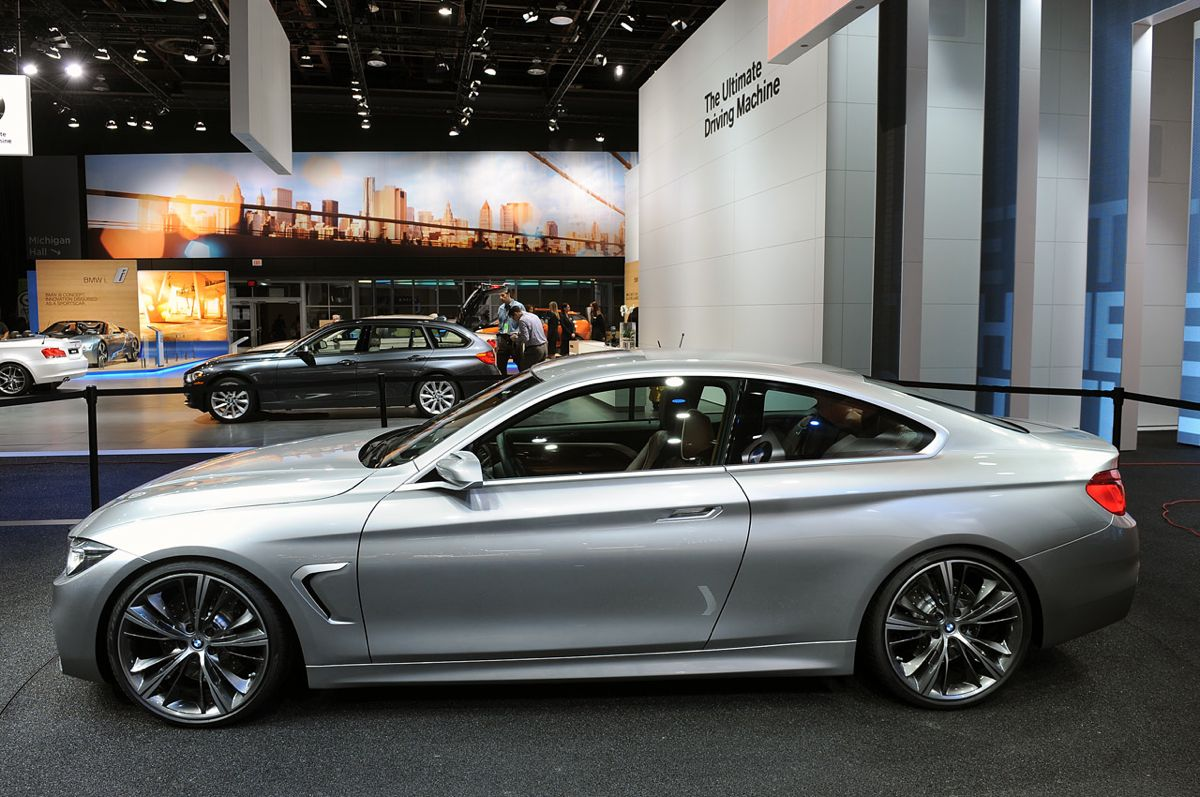 bmw 4 series coupe concept premieres in detroit photos 1 of 9. Black Bedroom Furniture Sets. Home Design Ideas