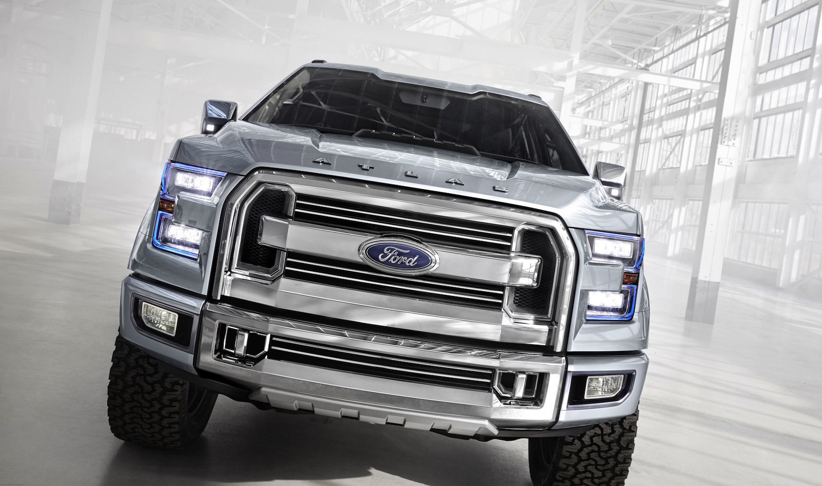 Ford Atlas concept teases new F-150 - Photos (1 of 18)