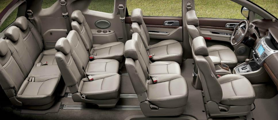 Ssangyong Stavic 11 Seat People Mover Revealed Photos