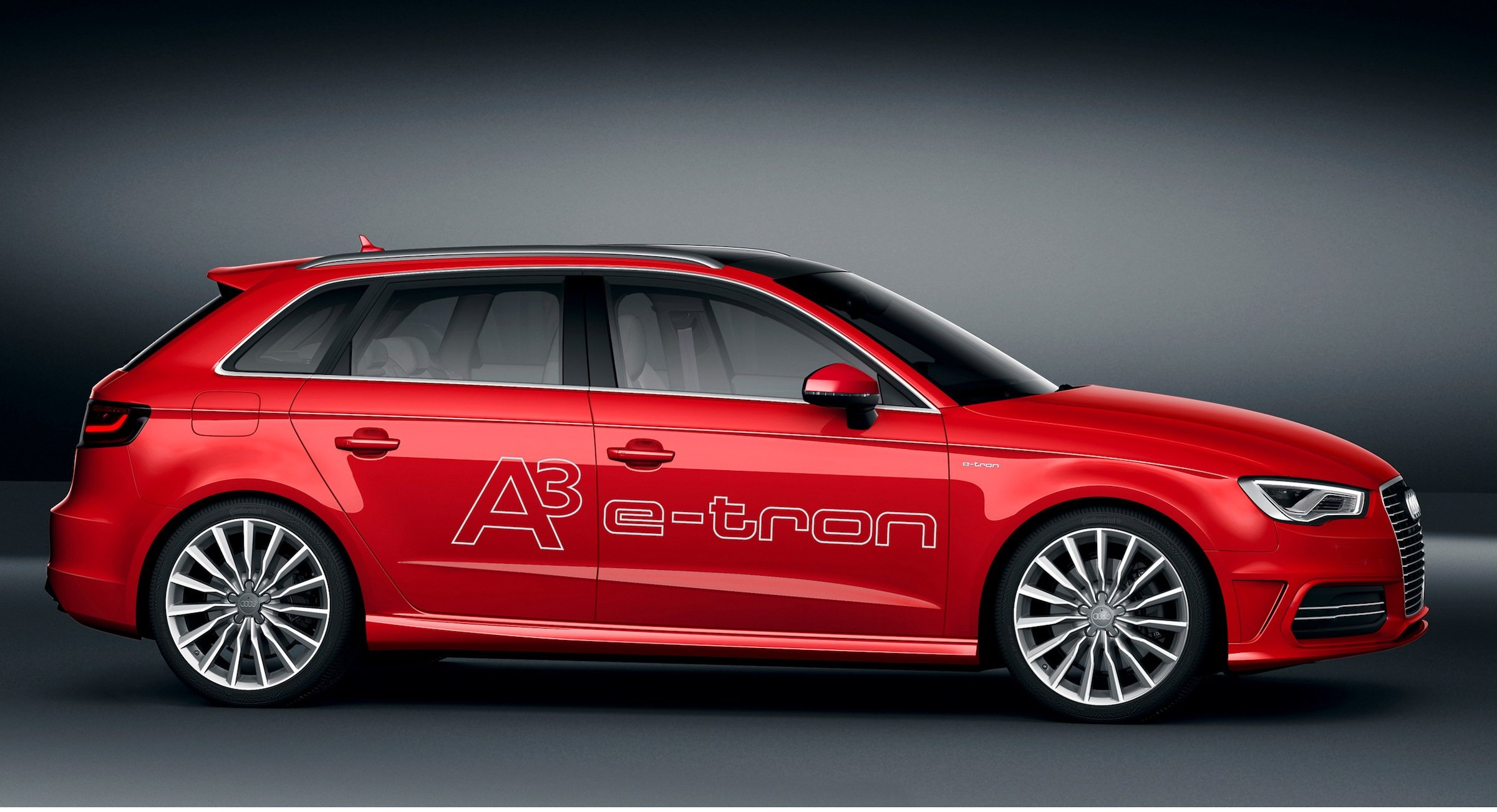 audi a3 e tron concept nails 1 5l 100km fuel economy. Black Bedroom Furniture Sets. Home Design Ideas