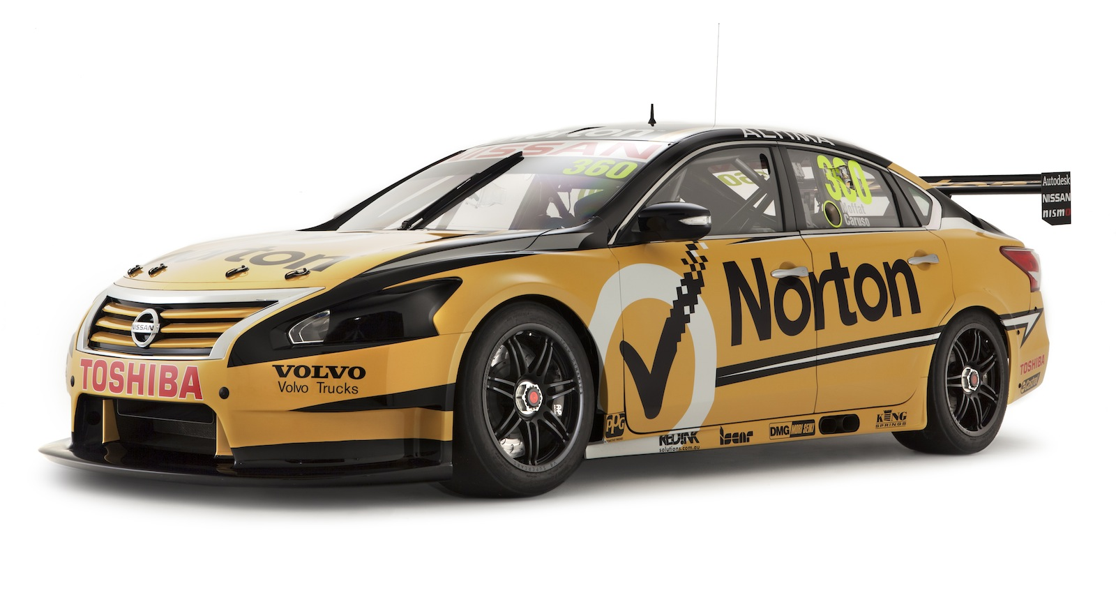 Nissan Altima V8 Supercars revealed - Photos (1 of 17)