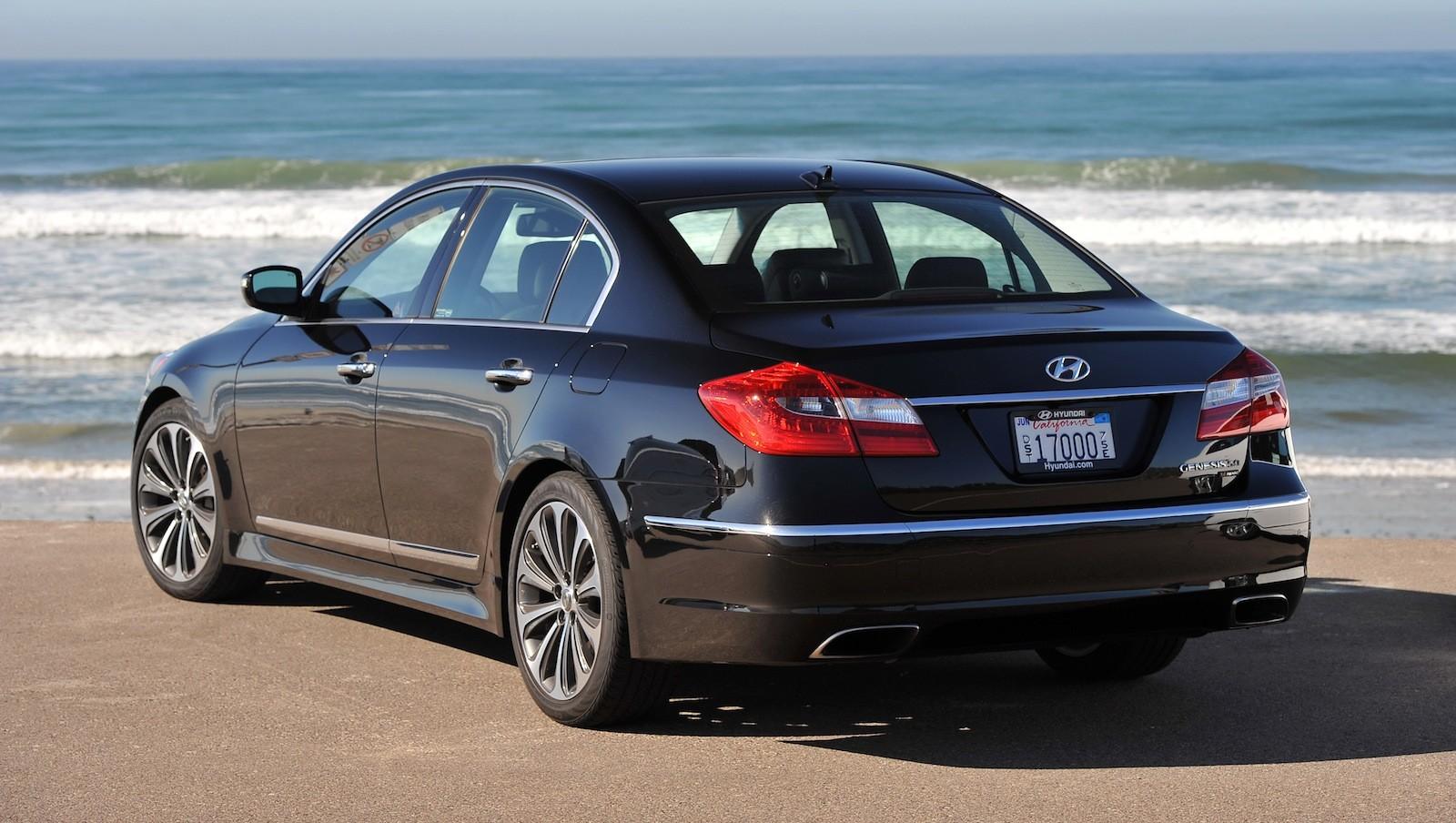Hyundai Genesis V8 R Spec Review CarAdvice