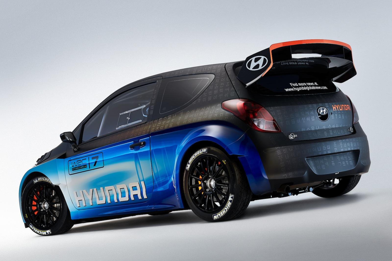 Hyundai I20 Wrc Upgraded Rally Car Unveiled At Geneva
