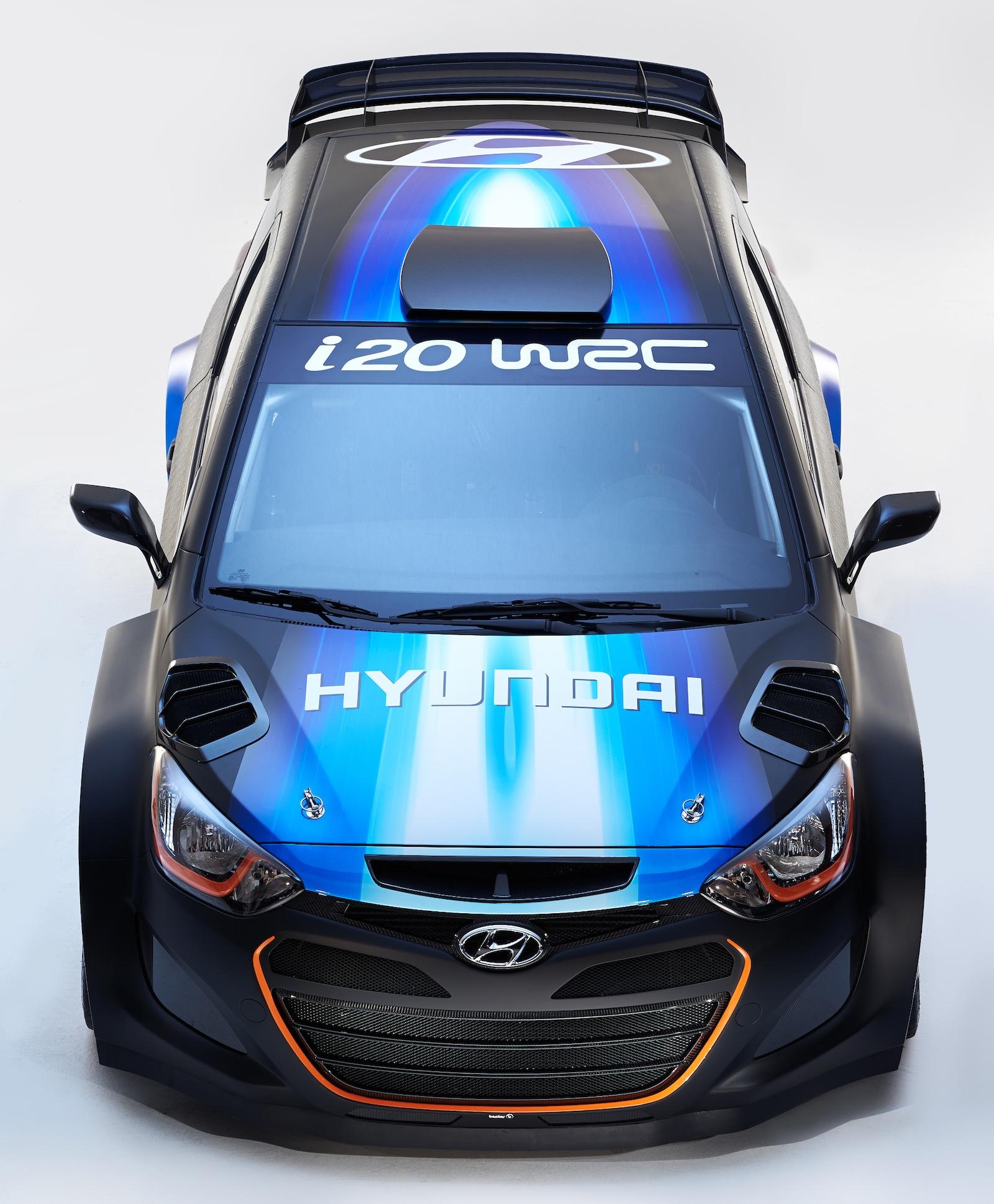Hyundai I20 WRC: Upgraded Rally Car Unveiled At Geneva