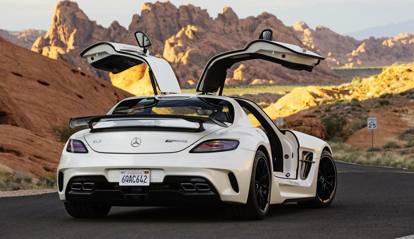 Mercedes benz sls amg black series a near sell out at for Mercedes benz amg black