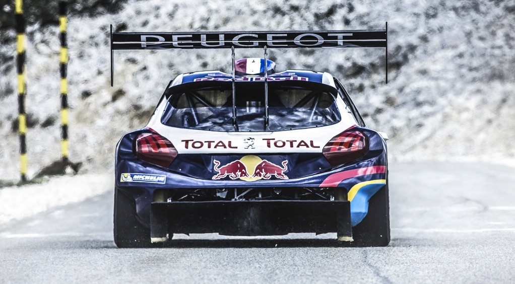 peugeot 208 t16 pikes peak racing livery revealed photos 1 of 8. Black Bedroom Furniture Sets. Home Design Ideas
