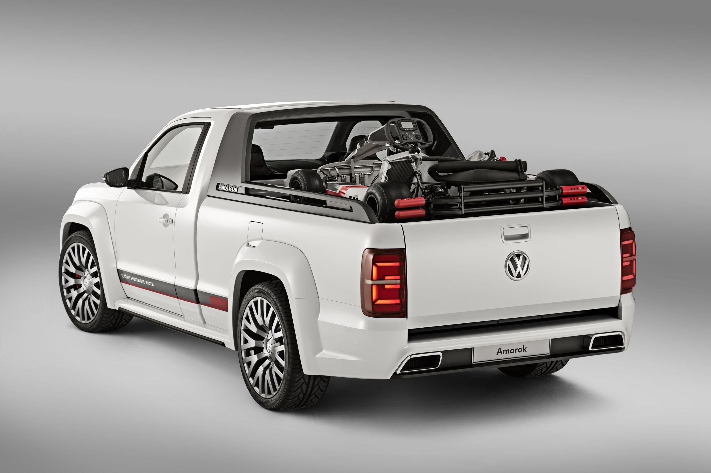 Volkswagen Amarok Power Pickup Unveiled Photos 1 Of 6