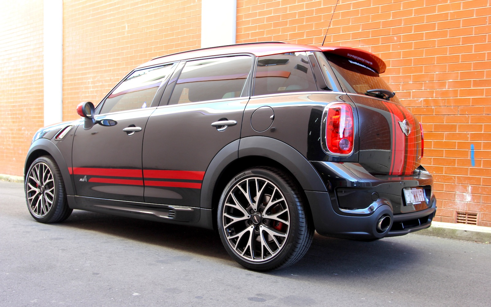 mini jcw countryman review caradvice. Black Bedroom Furniture Sets. Home Design Ideas