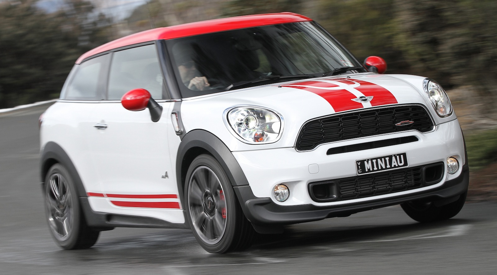 mini jcw paceman review caradvice. Black Bedroom Furniture Sets. Home Design Ideas