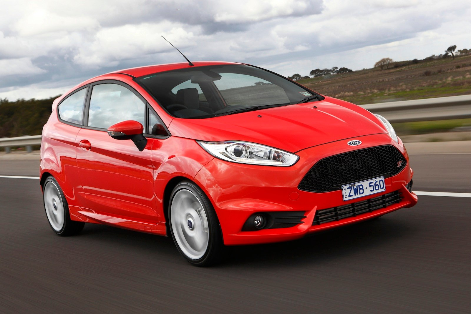 ford fiesta st review caradvice. Black Bedroom Furniture Sets. Home Design Ideas