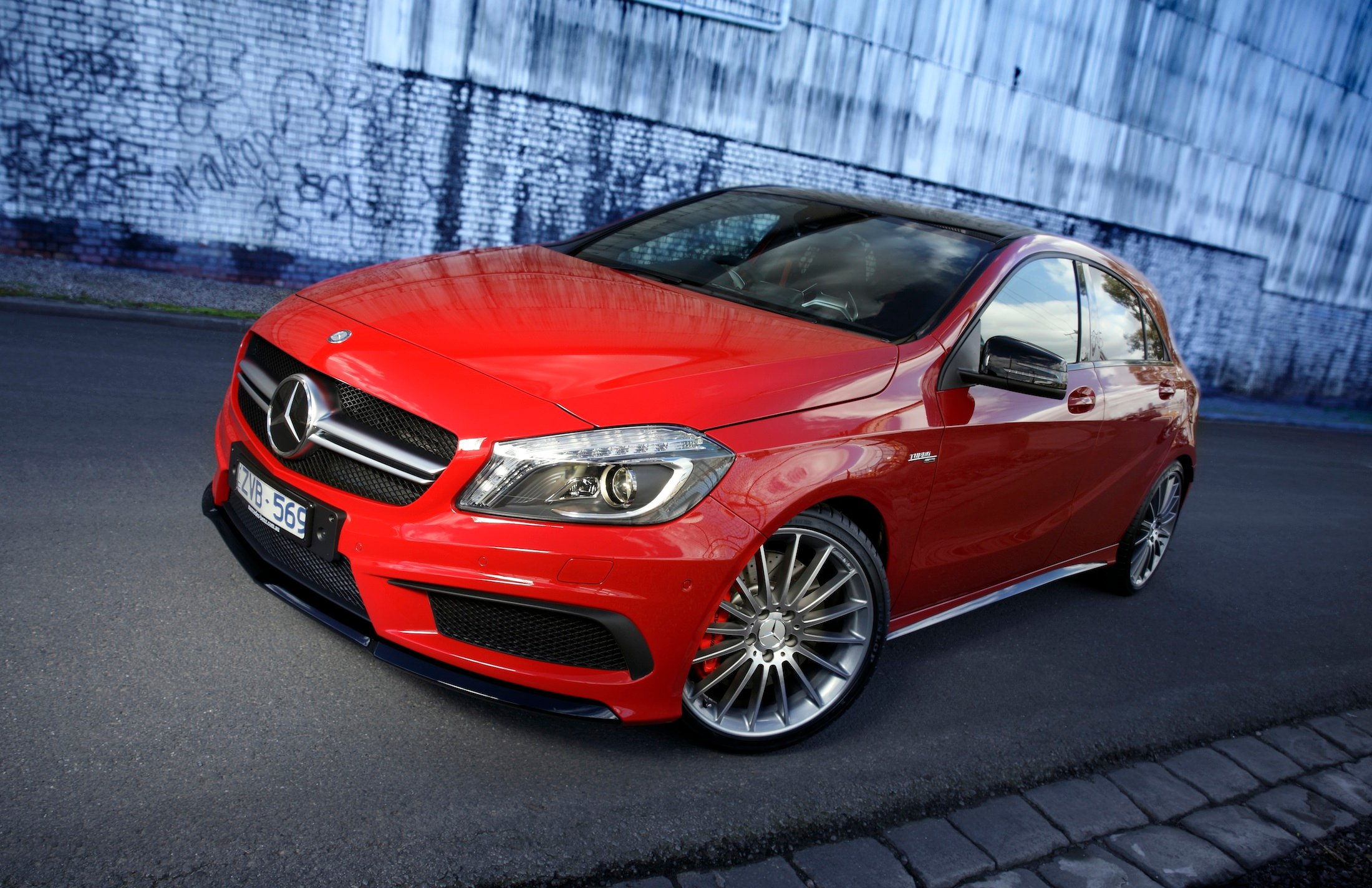 Mercedes benz a45 amg targets younger performance buyers for Performance mercedes benz
