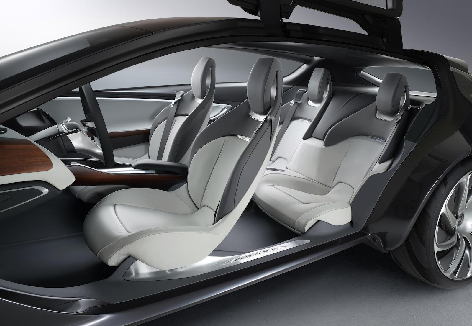 Opel monza concept four seat range extender revealed