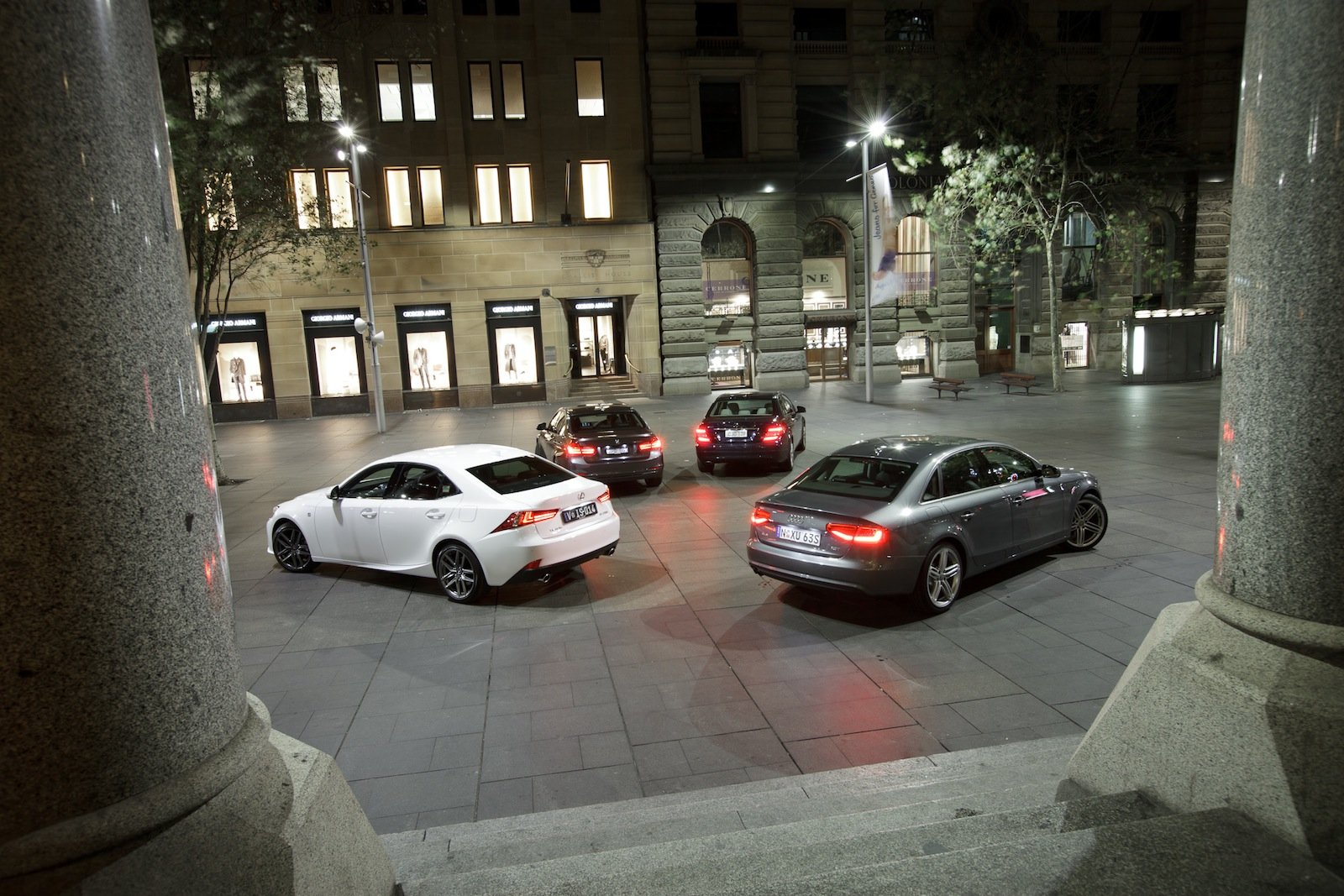 Compact luxury comparison: Lexus IS v BMW 3 Series v Audi ...