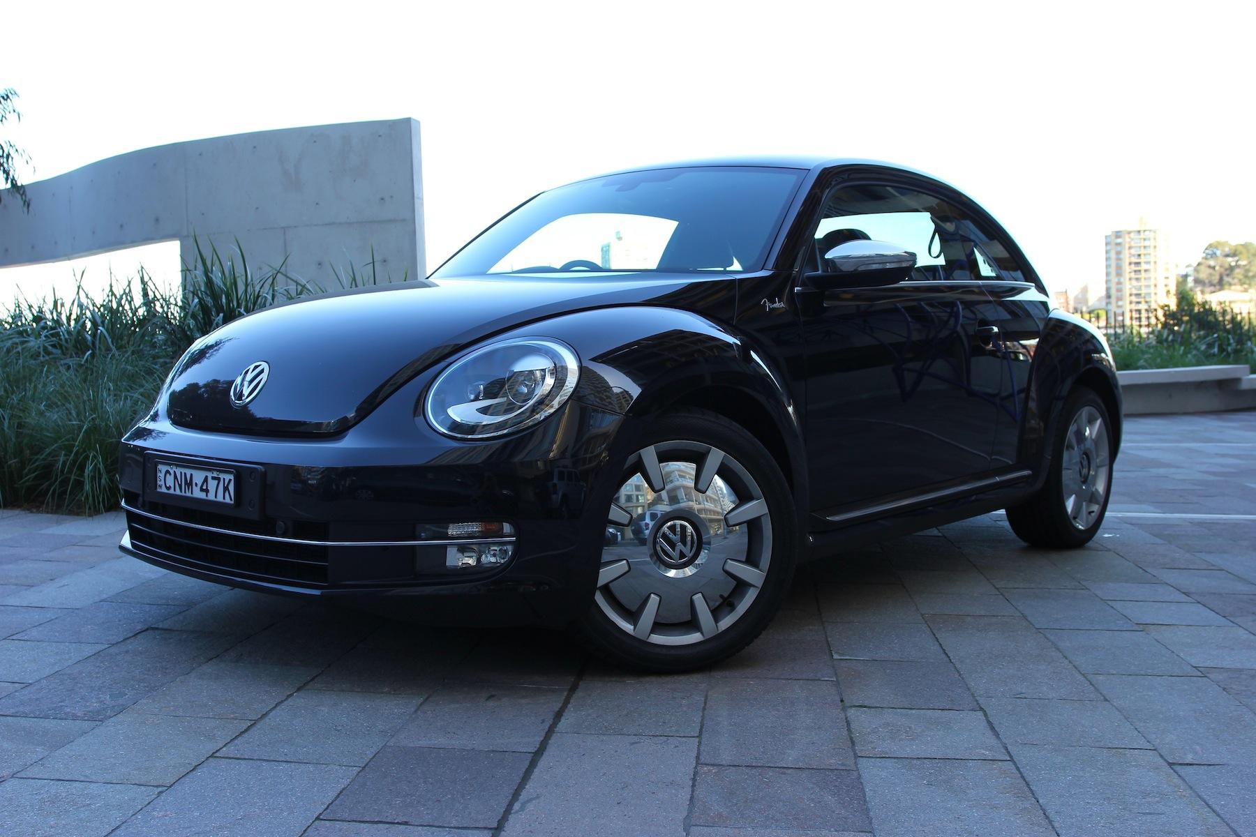 volkswagen beetle review fender edition caradvice. Black Bedroom Furniture Sets. Home Design Ideas