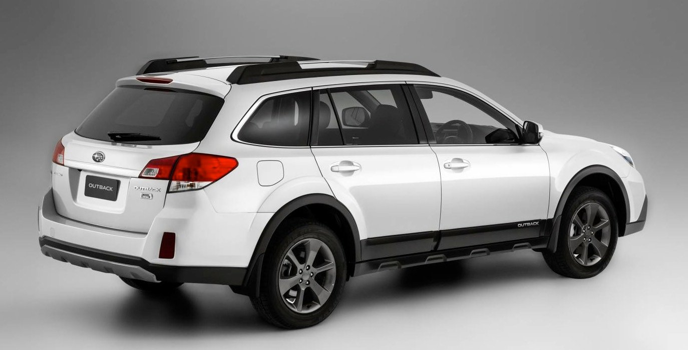 subaru outback tougher look price rise for 2014 photos 1 of 10. Black Bedroom Furniture Sets. Home Design Ideas